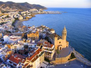 "Sitges known as ""Ibiza in miniature"""