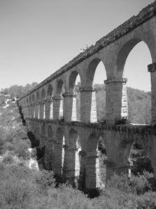 Roman aquaduct in Tarragona