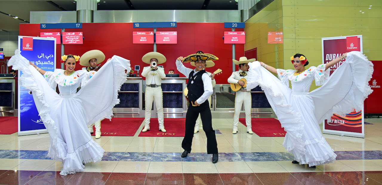 Emirates in Mexico City