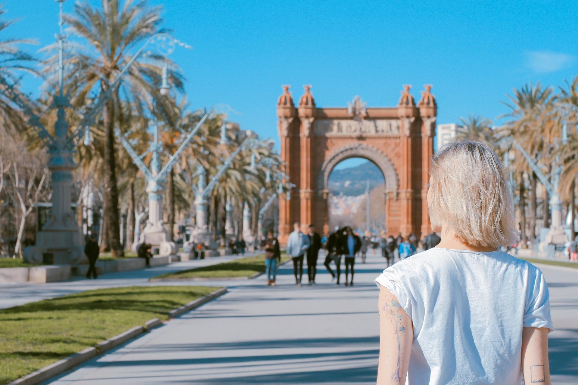 Arco de Triunfo in Barcelona